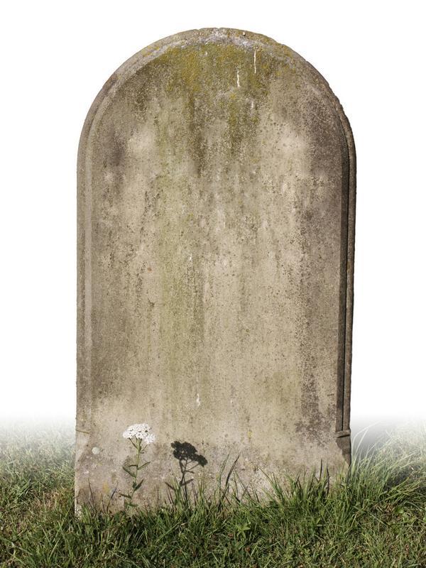 могильная плита